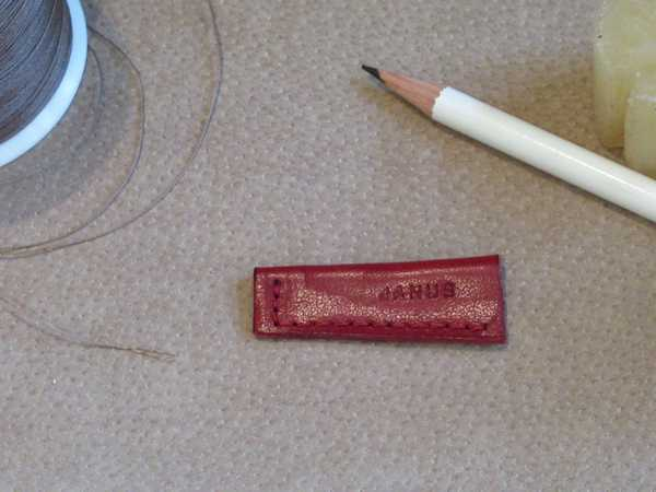 RoyalPoint Janus Pencil Point Protector Red Leather
