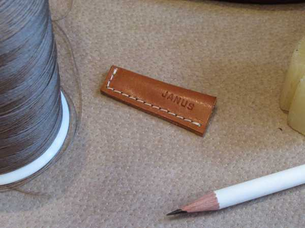 RoyalPoint Janus Pencil Point Protector Brown Leather